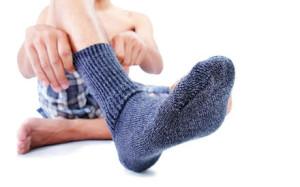 Как «победить» мужские носки?