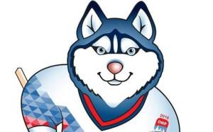 Официальным талисманом ЧМ-2016 по хоккею в России стала Лайка