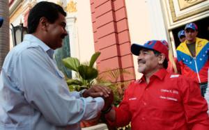 Мадуро предложил избрать президентом ФИФА Диего Марадону