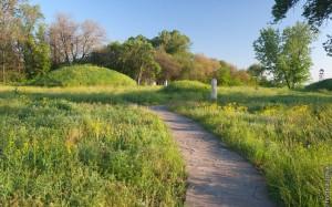 На Хортице обнаружено древнее захоронение