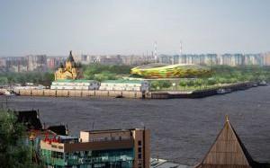 Стадион к ЧМ-2018 в Нижнем Новгороде будет сдан в сентябре 2017 года