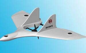 Новый дрон от SONY сочетает преимущества самолета и вертолета