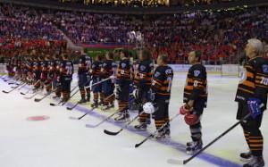 «Звезды Ночной хоккейной лиги» добились побед в благотворительных матчах