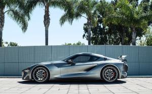 Новейший спорткар от BMW и Toyota вышел на тесты