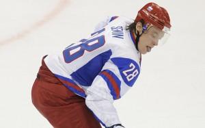 Хоккеист Александр Семин будет тренироваться в первом звене в сборной России