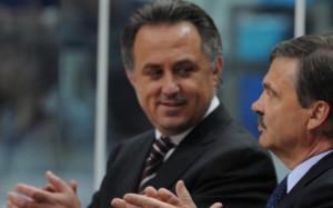 Президент IIHF и Виталий Мутко обсудили ход продажи билетов на ЧМ-2016
