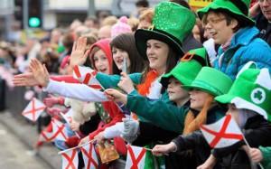 Дублин готовится ко Дню святого Патрика