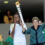 Эстафета олимпийского огня стартовала в Бразилии