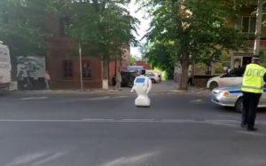 Российский робот сбежал из лаборатории