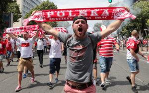 Двенадцать болельщиков были задержаны по итогам матча чемпионата Европы Украина — Польша