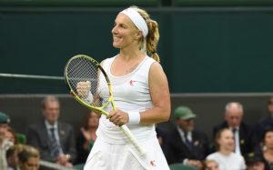 Кузнецова обыграла Возняцки и вышла во второй круг Уимблдонского теннисного турнира