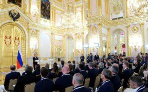 Владимир Путин проводил олимпийскую сборную России в Бразилию