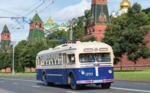 В Москве пройдут парад и выставка ретро-троллейбусов