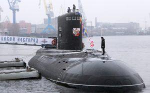 Российский флот получил невидимую подлодку