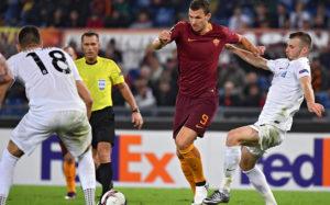«Рома» сыграла вничью с «Аустрией» в матче Лиги Европы