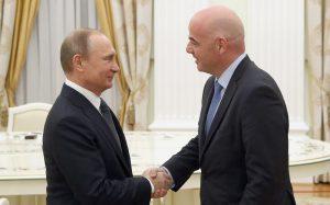 Путин встретится с президентом ФИФА в Москве