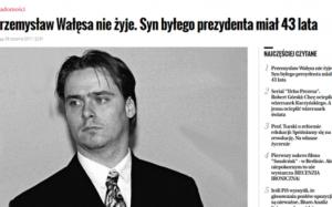 Сын бывшего президента Польши найден мертвым
