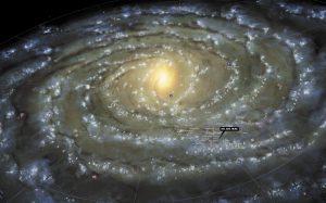 Сфотографирована самая красивая туманность «Млечного Пути»