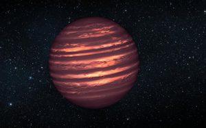 Астрономы нашли в созвездии Рыб «беглую» полупланету-полузвезду