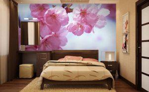 Разновидности современных фотообоев для спальни