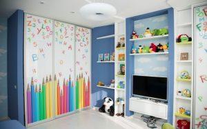 Шкаф купе для детской