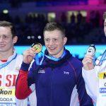Россиянин Пригода завоевал бронзу ЧМ в плавании на 100 м брассом