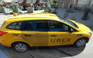 Uber не будет следить за пассажирами после поездки