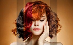 Особенности применения временных красок для волос