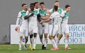«Ахмат» обыграл «Рубин» в 11-м туре чемпионата России по футболу