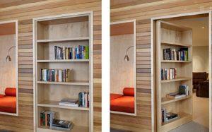 Секрет потайных комнат в интерьере