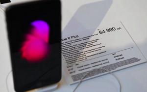 ФАС получила первые жалобы на цены на iPhone 8
