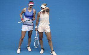 Макарова и Веснина проиграли в финале Australian Open в парах