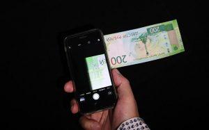 Приложение для смартфонов найдет поддельные банкноты новых номиналов