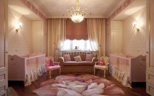Пошив штор для детской комнаты