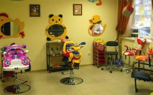 Создание детской парикмахерской