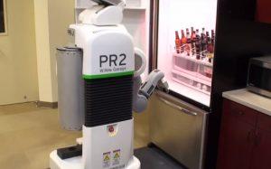 Создан робот, приносящий пиво из холодильника