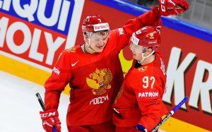 Сборная России разгромила Словакию на ЧМ по хоккею