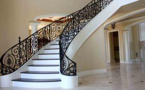 Необычная лестница производства «Металл Делюкс»