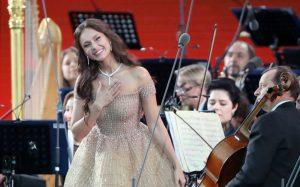 Певица Аида Гарифуллина выступила на открытии чемпионата мира по футболу