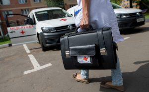 В больницах планируют бронировать парковочные места для пациентов