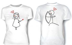 Разновидности печати надписей на футболках