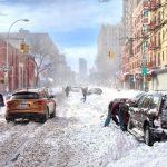Сильный снегопад вызвал транспортный коллапс на востоке США