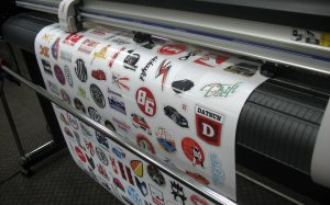 Печать наклеек высокого качества от компании radiuss.com.ua