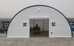 Каркасно-тентовые конструкции для складов, павильонов