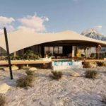 На высочайшей точке Арабских Эмиратов откроется роскошный палаточный курорт