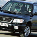 Проблемные места Subaru Forester
