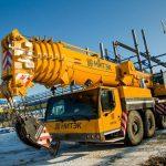 Выгодная аренда автокрана в 250 тонн