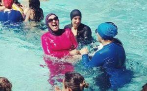 В Египте разрешили купаться в бассейнах отелей в буркини