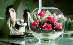 Лучшим подарком для ваших близких будут цветы в вакууме