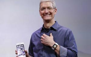 Тим Кук: часы Apple Watch выйдут за пределами США в апреле